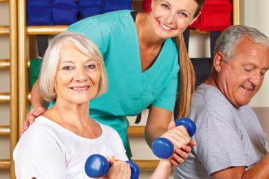 Pflege - Sport aktiv